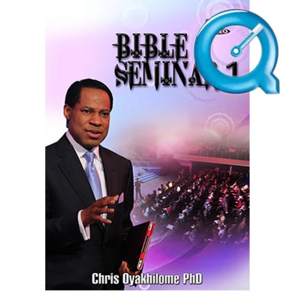 Bible Seminar Vol.1  Part 1 (Mpeg format)