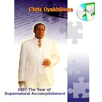 2007 Year of Supernatural Accomplishment (mp3 format)