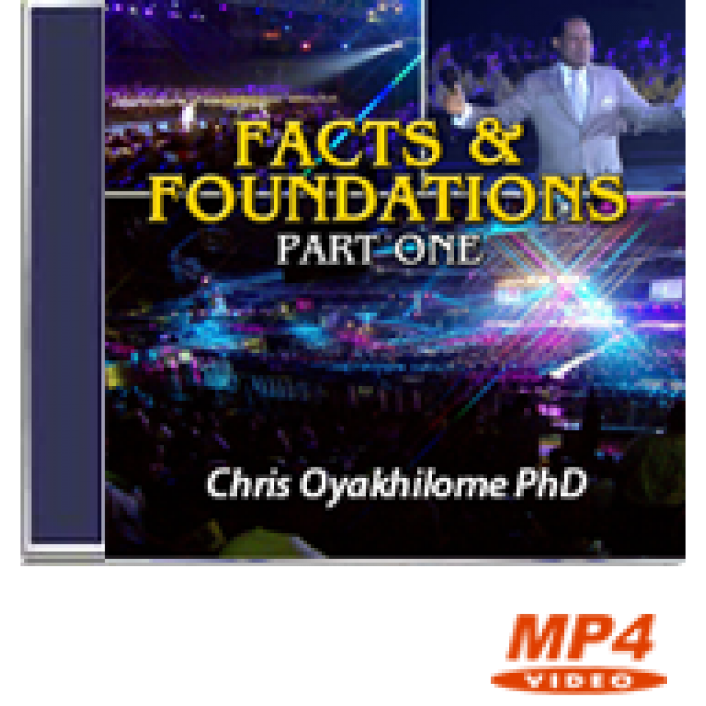 Facts and Foundations Part 1